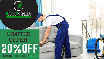 GREEN SOFA CLEANING NYC